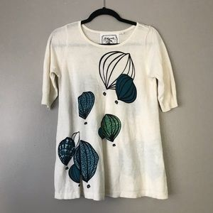 """☀️ Portraits of a Flower """"Hot Air Balloons"""" blouse"""